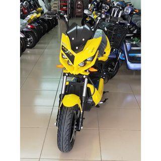 電動車E-Bike- AFA4 (黃)-電動自行車/電動輔助自行車/電動機車/電動車