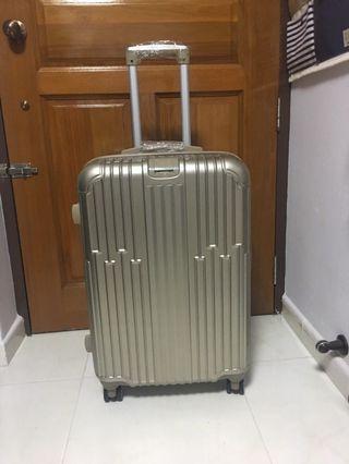 24 Inch Rose Pink Luggage
