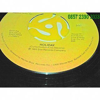 MURAH Piringan Hideung Vinyl Album Madonna Holiday Border Line YZ33330