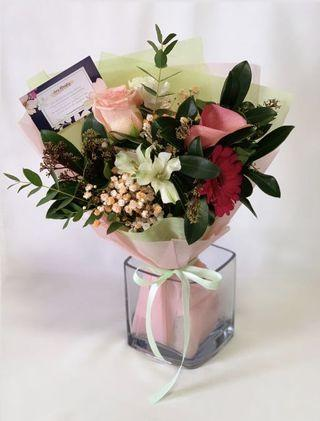 <‼️50% Flash Sale > Pastel Rose Bouquet
