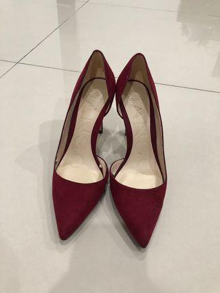 Mango Red High Heels