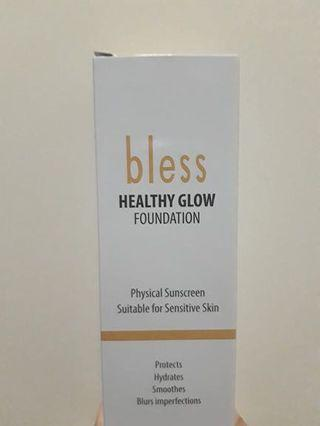 ISI MASIH FULL - BLESS HEALTHY GLOW FOUNDATION - SHADE BEIGE