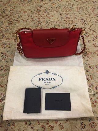 Authentic Prada Nylon Sling Bag