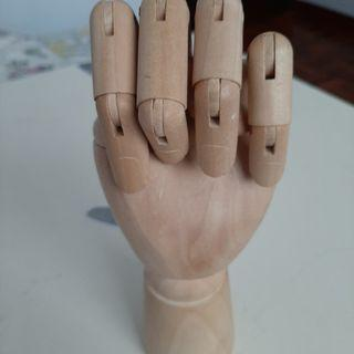 Type wooden hand (without box) price can nego