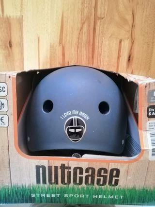 Nutcase Shark Skin Matte Street Helmet - M size