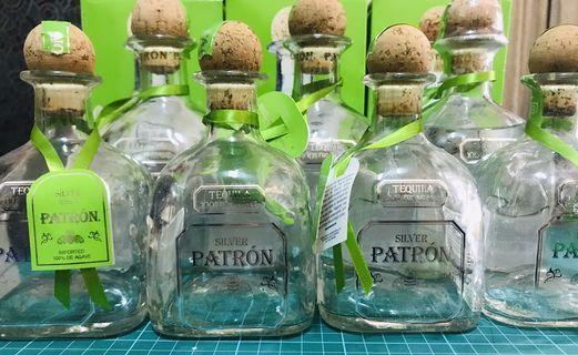 PATRÓN SILVER龍舌蘭 酒瓶(三大三小不拆賣)