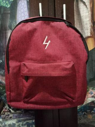 Backpack maroon