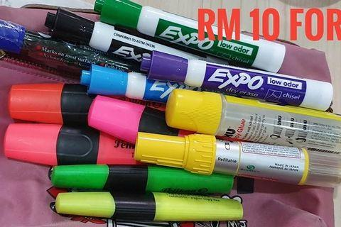 Rm10 bundle stuff - Highlighter and markers