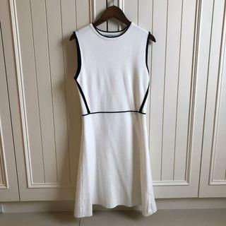 9.9成新 法式小香風短袖針織洋裝