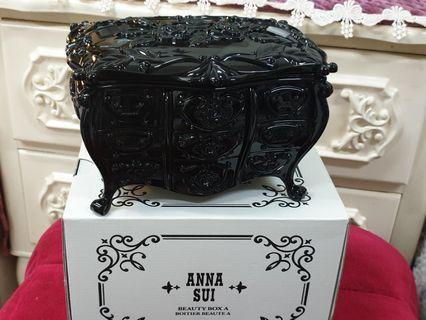 ANNASUl復古薔薇🌺收納盒(珠寶盒)正貨💯