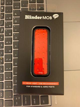 Knog rear blinder with reflective material brand new