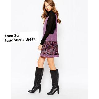 Anna Sui Embroidery Dress