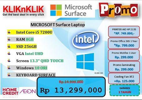Kredit Laptop Microsoft Surface
