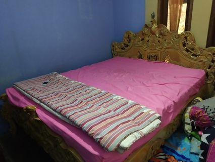 Tempat Tidur Jati/Dipan