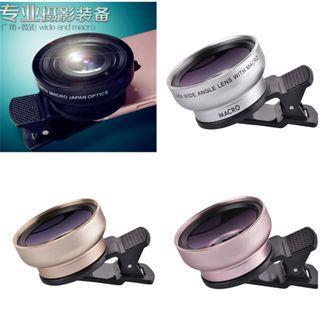 自拍神器~手機超級廣角鏡頭0.45倍  手機鏡頭