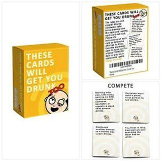 ★CHEAPEST★ These Cards Will Get You Drunk Too Card Game