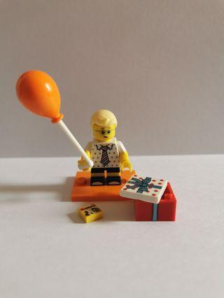 Lego Minifigures Series 18 Birthday Party Boy