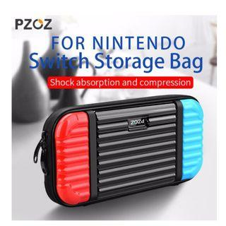 ★CHEAPEST★ Nintendo Switch PZOZ Hard Case Blue Red Black Cover Bag Case Protective Storage