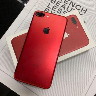 Iphone7 plus 128g red
