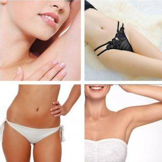IPL bralizian /underarm & inner thigh whitening/ removal of pigmentation and scars + keloids/ full body IPL / IPL facial / IPL for firming face + neck + chin / lightening of stretch marks + firming tummy - live the hairless, firm and fair body life now!