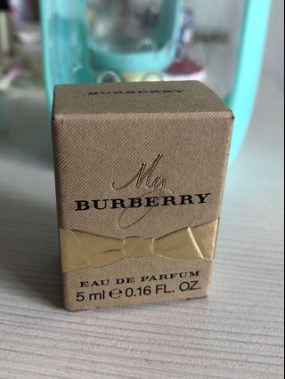 Burberry My Burberry 淡香精 女香 小香 5ml 香水Perfume