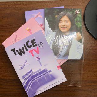 Twice tv3 含子瑜明信片