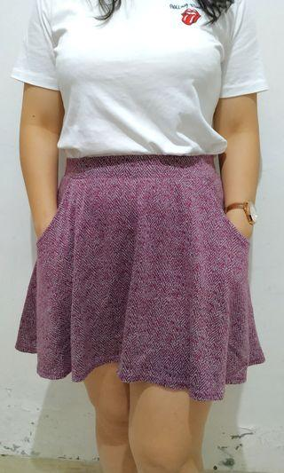 Mini Flare Skirt Motif Tribal