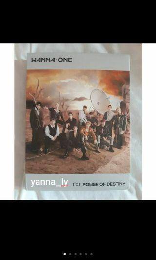 [Pre-Loved] Wanna One Power of Destiny Adventure Version Jaehwan Full set