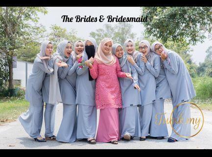 baju kurung for bridemaids
