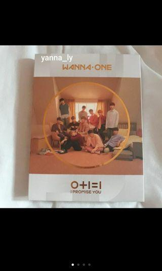 [PRE-LOVED] WANNA ONE I.P.U DAY VERSION