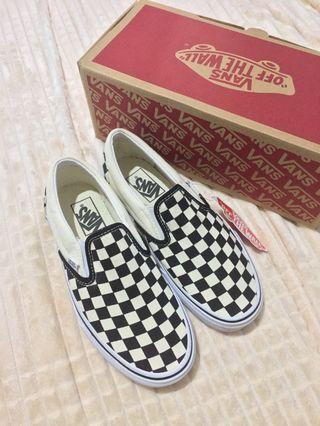Vans Classic Slip on Checkerboard black&white