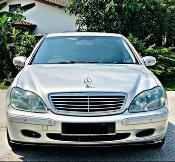 KERETA CASH/CASH CAR MERCEDES-BENZ  W220 S320L