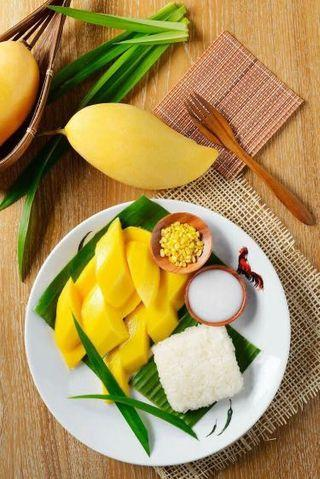 Mango Sticky Rice (Thai Dessert) Order