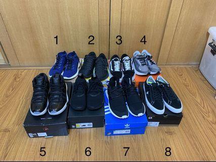 Nike Jordan adidas vans converse 各式二手鞋