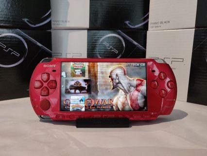 PSP + 800 Games + God Of War + Charger + Box +  Screen Protector + Pouch + Manual ( FULL SET )