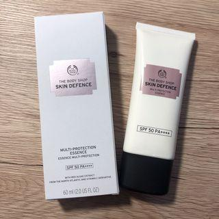The body shop 全效防禦清透隔離霜