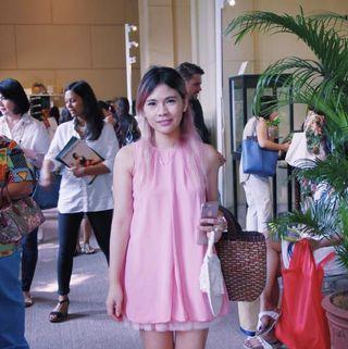 Pink Pumpkin Dress