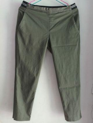 Uniqlo army pants ankle