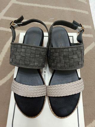韓系編織涼鞋(37號)