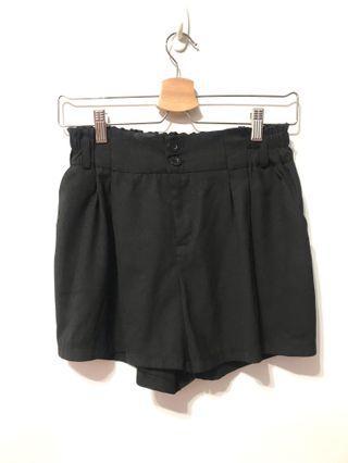 西裝短褲-黑