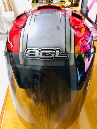 Sol 3/4半罩安XL安全帽