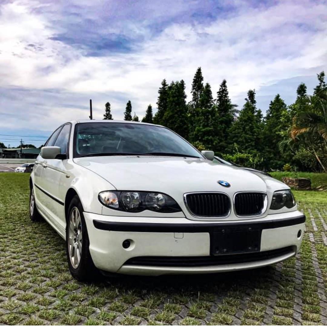 2002 BMW 318i 白 車在桃園