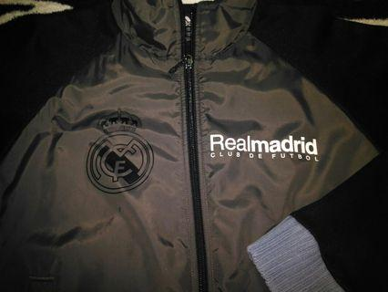 Adidas authentic real madrid wet look track top