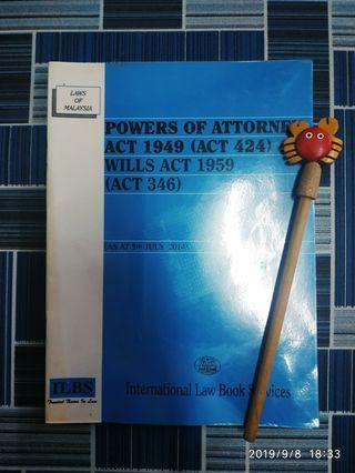 Power of attorney act