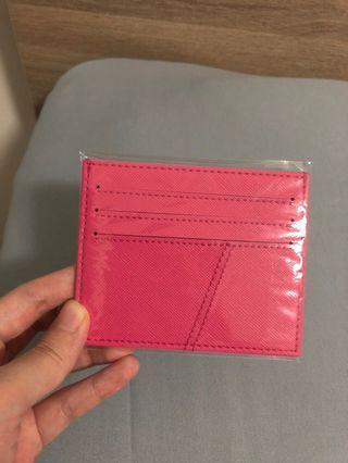 Cardholder pink baru 100%
