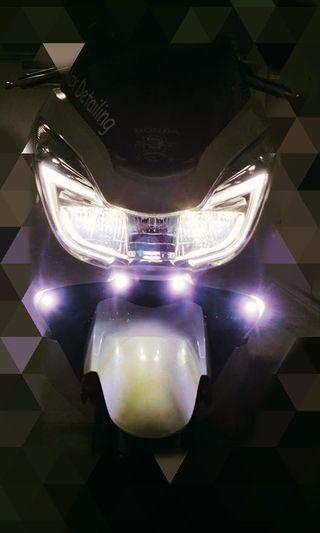 Bike 12v Mini fog light super bright 23mm