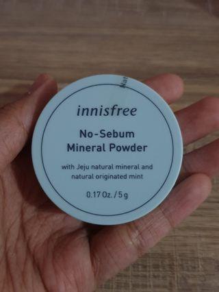 Innisfree No-Sebum Mineral Powder (5g)