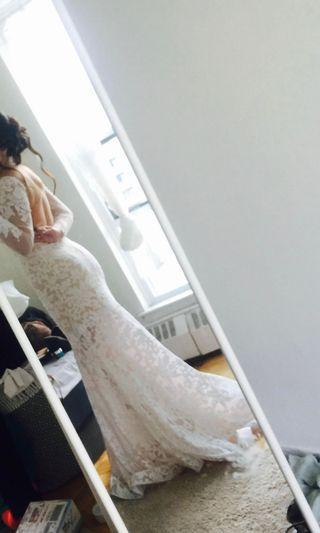 Wedding dress Gown