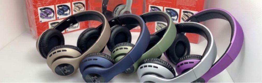UA-67 重低音藍芽耳機(藍)