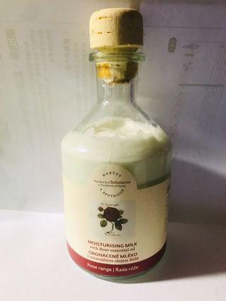 Hortus&Apothicus玫瑰乳液250g/菠丹妮正品